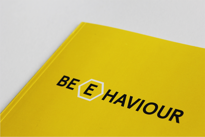 Honey bee behaviour book design