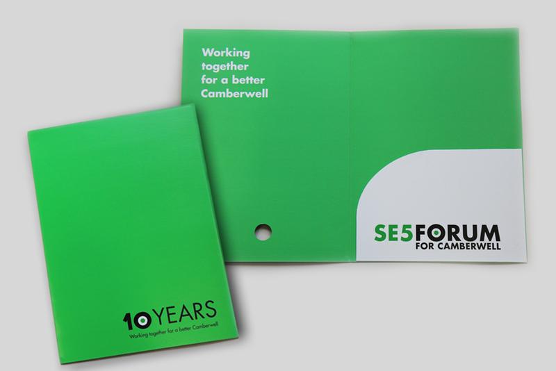 SE5 Forum branding – AGM folder